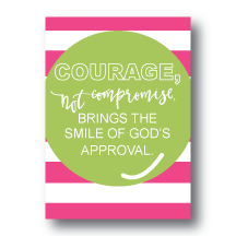 Art Prints-Courage