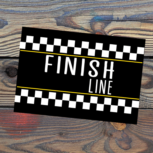 Posters - Finish Line