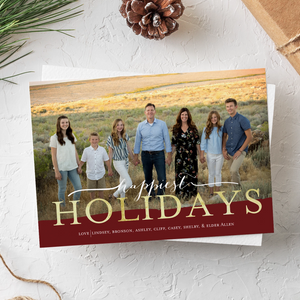 Holiday Card-Wonderful Christmastime