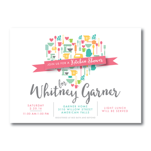 Bridal Shower Invitation- 8