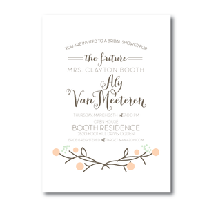 Bridal Shower Invitations- 12