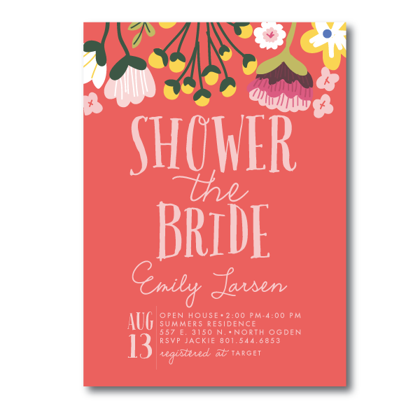 Bridal Shower Invitations- 4