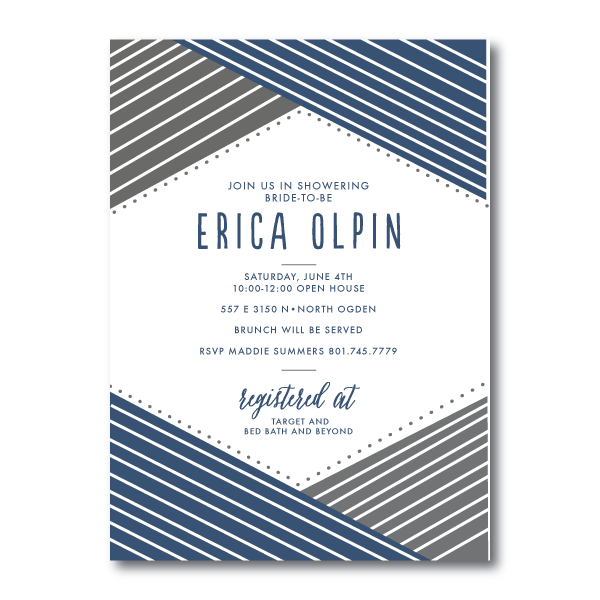 Bridal Shower Invitations- 6