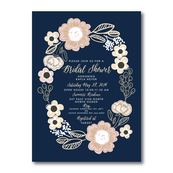 Bridal Shower Invitations- 7