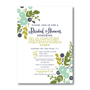 Bridal Shower Invitations- 9