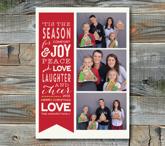 holiday cards-tis' the season