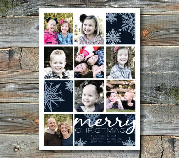 holiday photo cards-windows