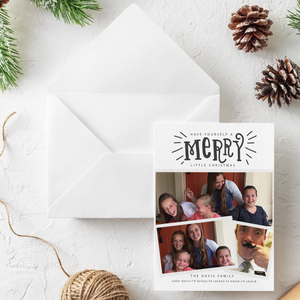 Holiday Card-Holly Jolly Christmas