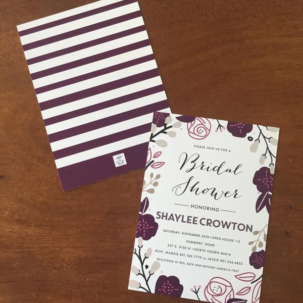 Bridal Shower Invitations- 10
