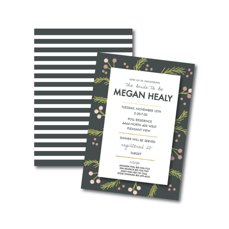 Invitations-Bridal Shower 1