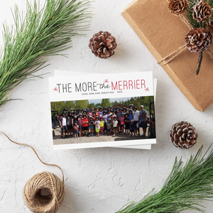 Holiday Card-The More the Merrier