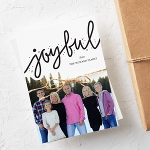 Holiday Card-Joy to the World