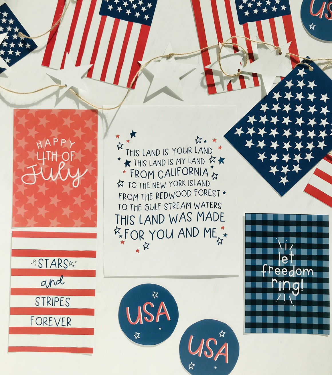 4th of July Fun Print Pack