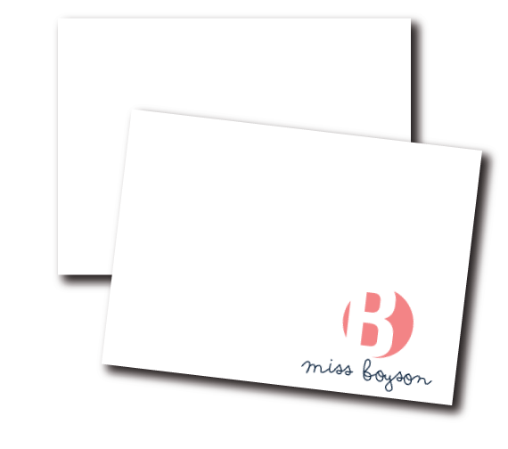 notecards-prep school