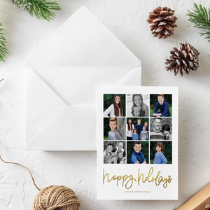 Holiday Card-Christmas Time is Here