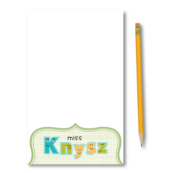 Notepads-School Days Set