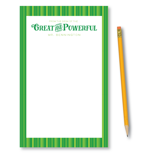 Notepads-Great and Powerful