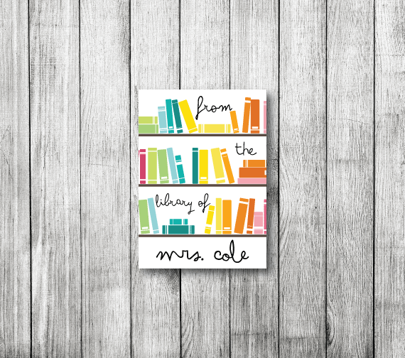 Bookplates-Bright Library