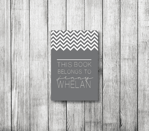 Bookplates-Chevron