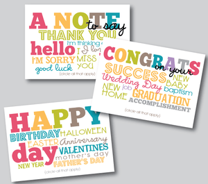 notecards-all occasion cards