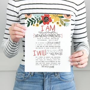 New Young Women Theme Printables
