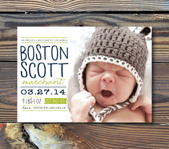 Birth Announcements-Welcome to the World