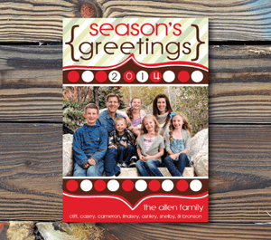 Holiday Cards-Season's Greetings
