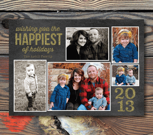 Holiday Cards-Happiest of Holidays