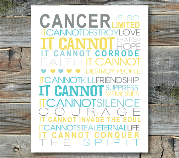 Art Prints-Cancer is So Limited