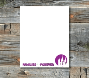 notepads-families are forever
