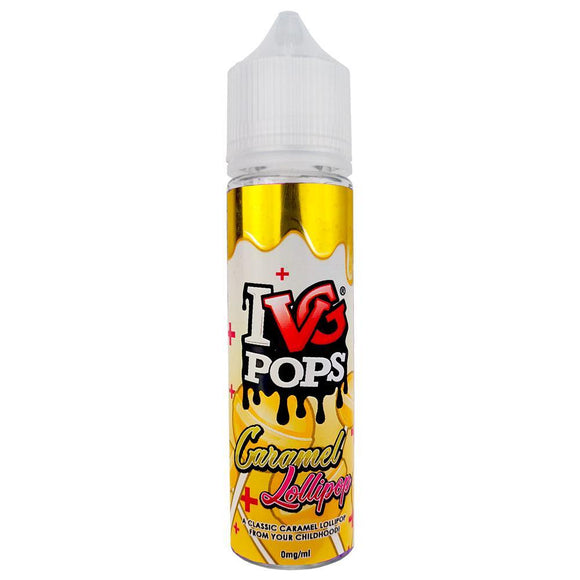 IVG50ml Eliquid - Caramel Lollipop