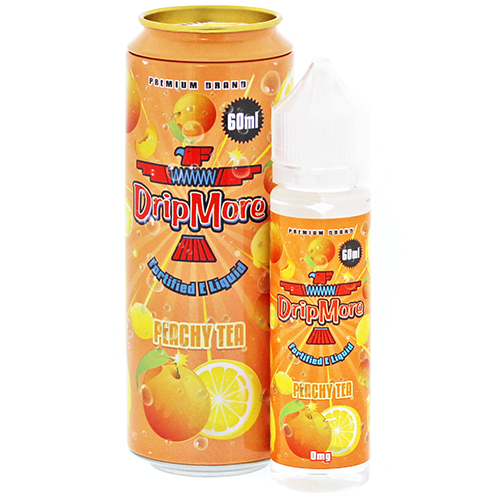 DripMore 50ml E-Liquid – Peachy Tea by en-ex