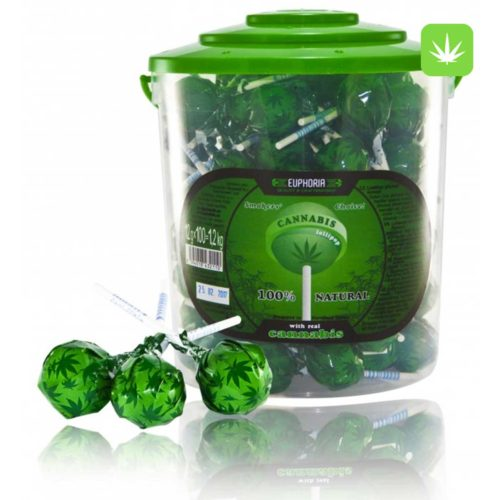 Euphoria Cannabis Lollipops by en-ex