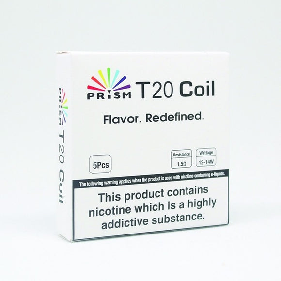 Innokin Prism T20 1.5Ω Coils (12-14 Watts) 5 Pack by en-ex