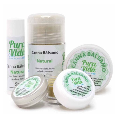 Pura Vida CBD Topical Balm by en-ex