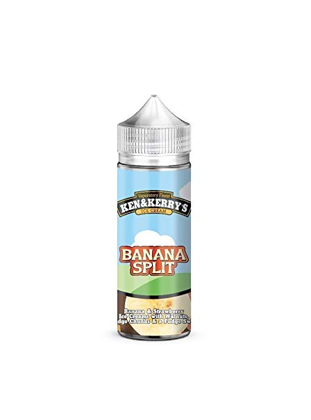 Ken & Kerry's Banana Split 100ml E-liquid by en-ex