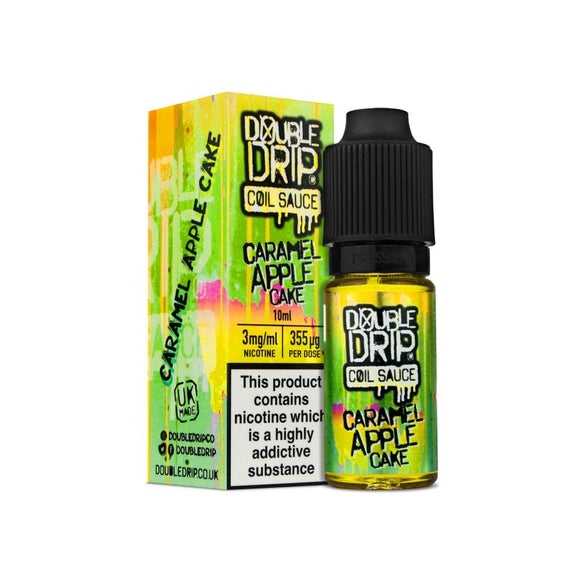 Double Drip 10ml - Caramel Apple Cake by en-ex