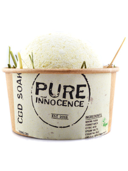 PURE INNOCENCE CBD SOAKS - BATH BOMBS by en-ex