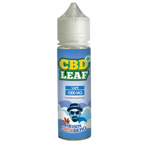 CBD Leaf Heisen Hash Berg 50ml - 1000mg CBD Isolate by en-ex