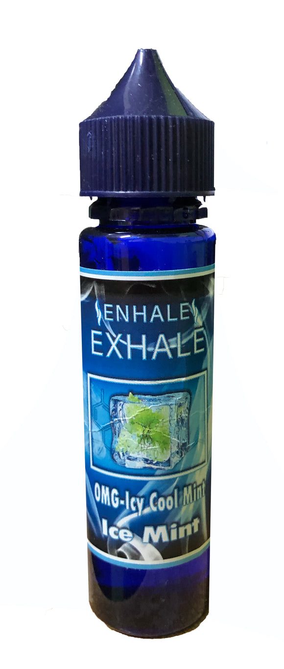 Enhale Exhale 0mg Icey Cool Mint 200ml E-liquid by en-ex
