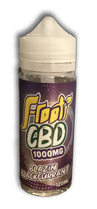 Frooti CBD Blazin Blackcurrant 120ml E-liquid