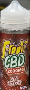 idealaworld,Frooti CBD Red Cherry 120ml E-liquid