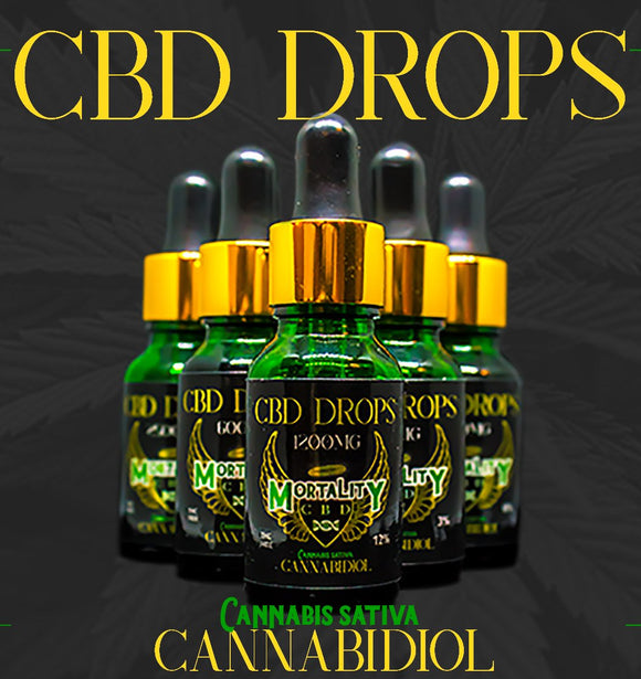 Mortality CBD Drops 5000mg - 30ml