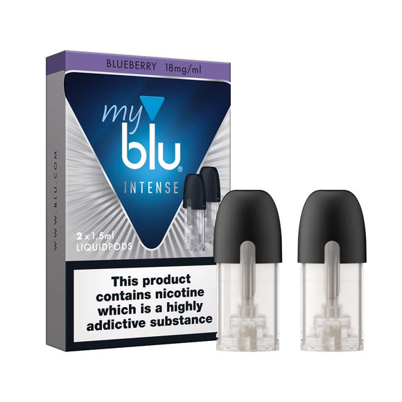 myBlu 1.5ml Liquidpod - Blueberry (INTENSE RANGE) - 18mg by en-ex