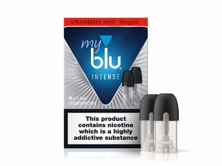 myBlu 1.5ml Liquidpod - Strawberry Mint (INTENSE RANGE) - 18mg by en-ex