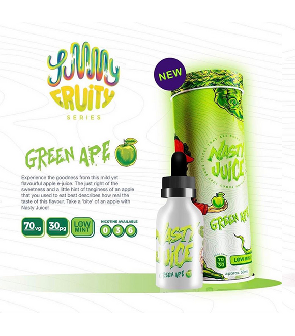 Nasty Juice Green Ape 50ml E-liquid