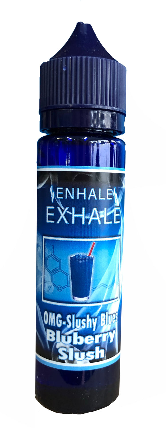 Enhale Exhale 0mg Slushy Blues 50ml E-liquid by en-ex