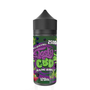 Tasty CBD Blazing Berries 100ml E-liquid by en-ex
