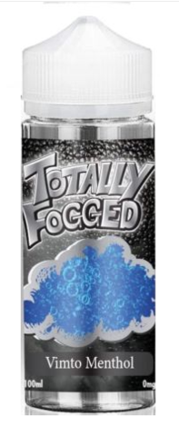 Totally Fogged 100ml E-Liquid - Vimto Menthol by en-ex