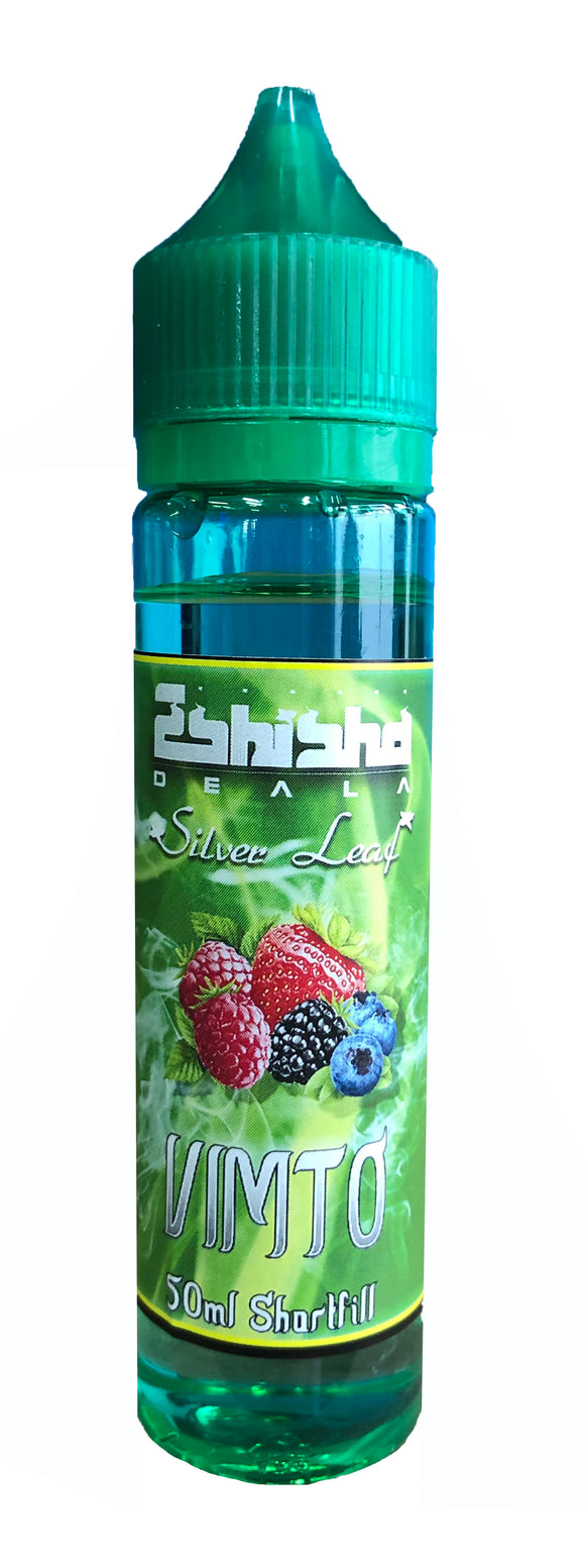 eShishaDeala Silver Leaf Vimto 200ml E-Liquid by en-ex
